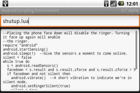 Ase расширит возможности android-коммуникаторов с помощью скриптов