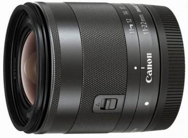 Canon представила сверхширокоугольный объектив ef-m 11-22mm f/4-5.6 is stm