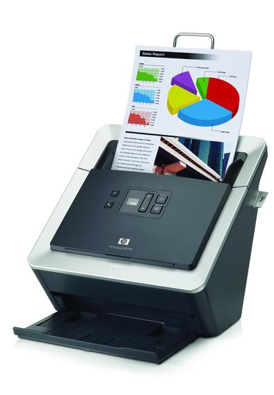 Hp scanjet n7710: двухсторонний сканер для рабочих групп
