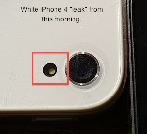 Iphone 4 в белом на фото и видео - производство началось?