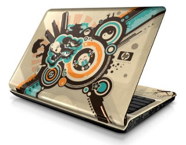 Как украсить свой ноутбук