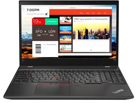 Lenovo thinkpad t580: ударная работа