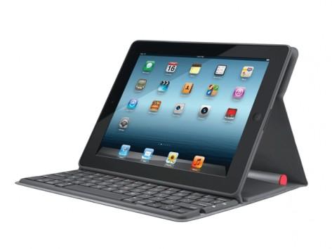 Logitech представила обложку со встроенной клавиатурой на солнечных батареях для ipad
