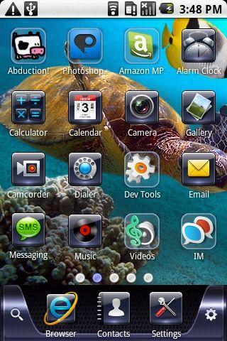 Несколько интересных интерфейсов для android