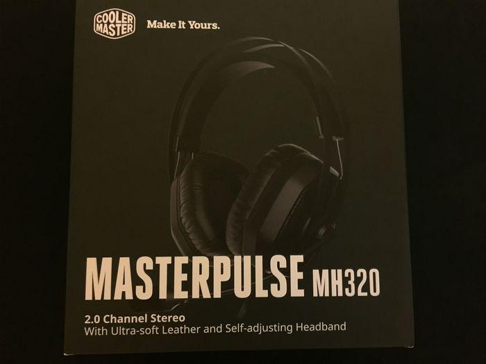 Обзор игровой гарнитуры cooler master masterpulse mh320
