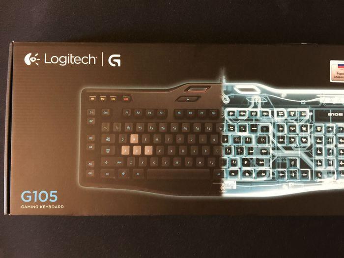 Обзор игровой клавиатуры logitech g105
