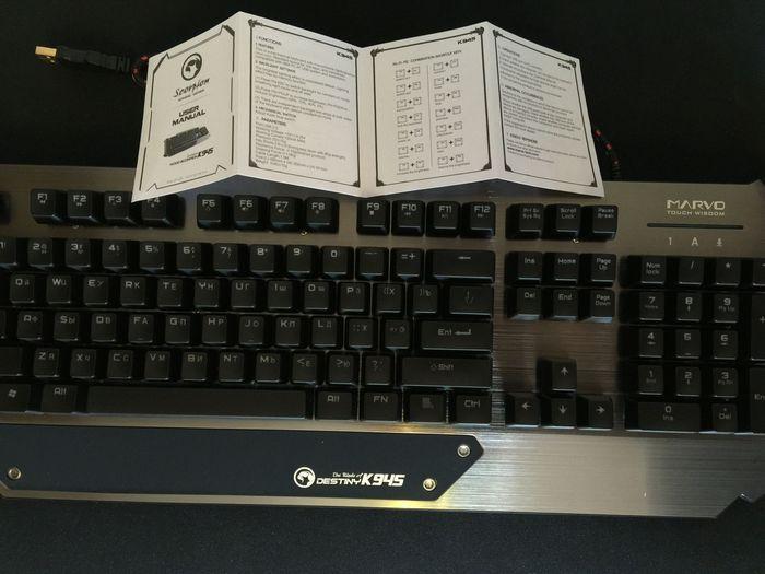 Обзор игровой клавиатуры marvo k945