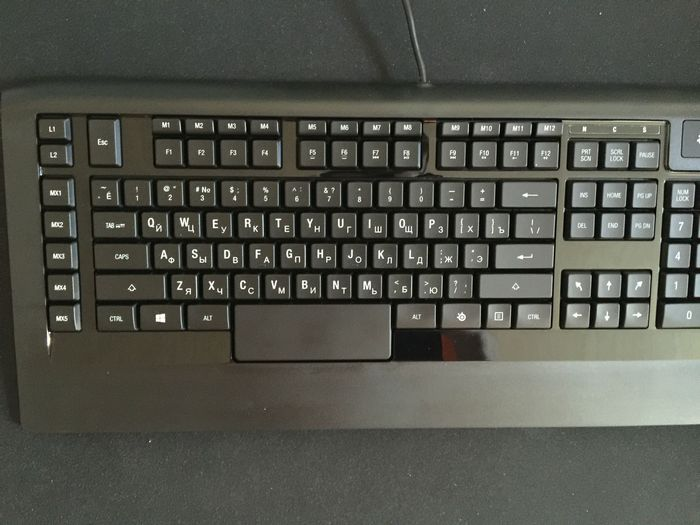 Обзор игровой клавиатуры steelseries apex raw