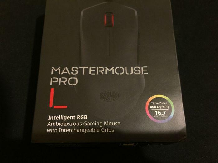 Обзор игровой мышки cooler master mastermouse pro l