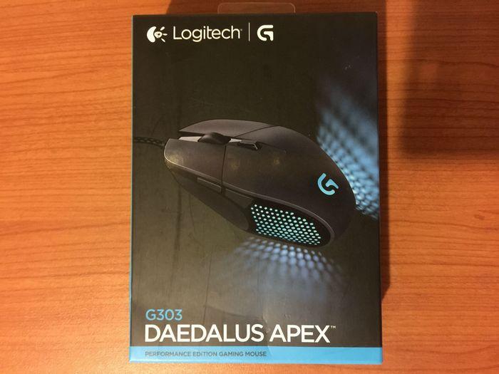 Обзор игровой мышки logitech g303 daedalus apex