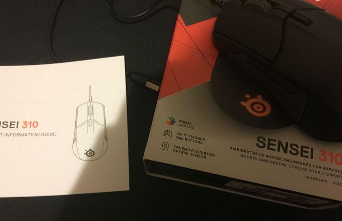 Обзор игровой мышки steelseries sensei 310