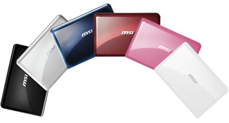 Обзор ноутбука msi wind u135dx