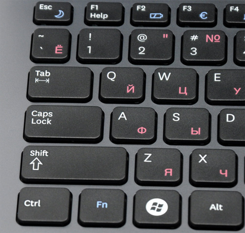 Обзор ноутбука samsung rc510