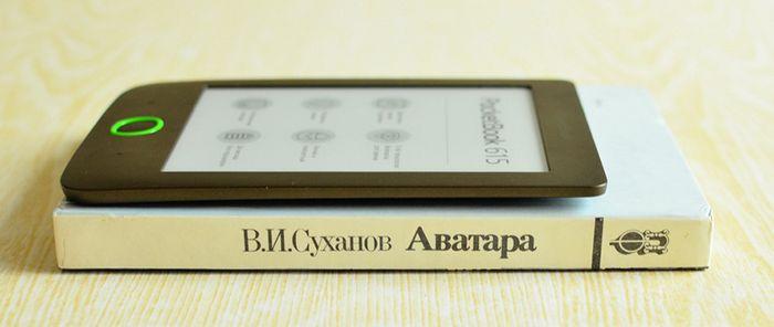 Обзор pocketbook 615: бюжетный ридер с экраном e ink pearl hd и подсветкой