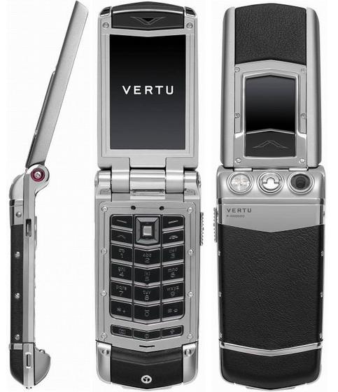 Официально представлена раскладушка премиум-класса vertu constellation f ayxta