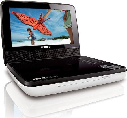 Philips анонсирует новый портативный dvd-плеер pd7030