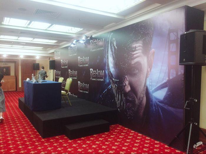 Пресс-конференция тома харди в преддверии выхода фильма «веном»