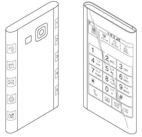 Samsung начал выпуск трехгранных дисплеев