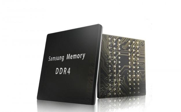 Samsung представила первый на рынке мобильный модуль lpddr4 dram на 8 гб