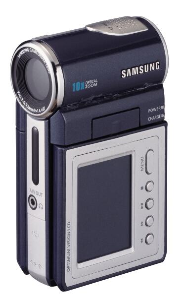Samsung выпустил видеокамеру с жестким диском
