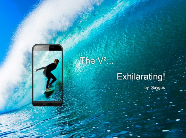 Saygus v-squared — водонепроницаемый флагман с двумя операционными системами