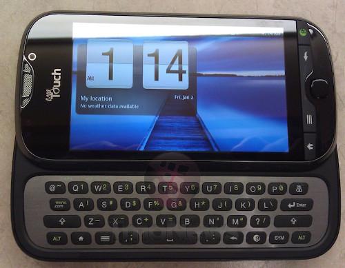 Смартфон t-mobile mytouch 4g slide появился на четких снимках