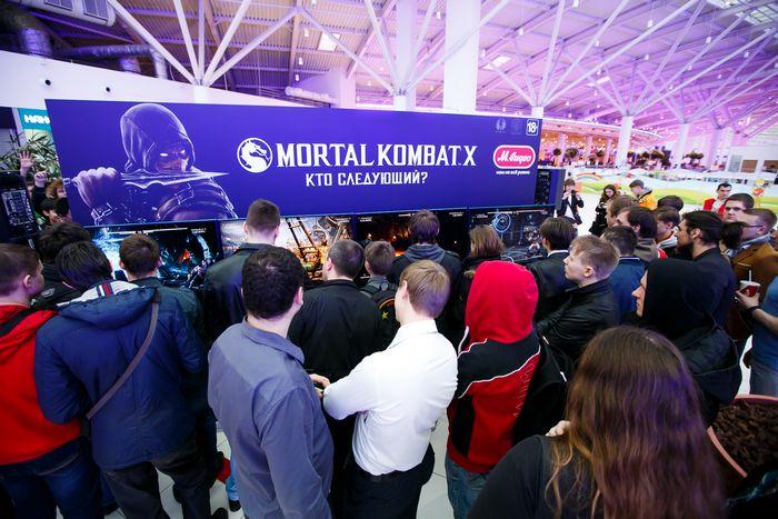 Старт продаж игры mortal kombat x