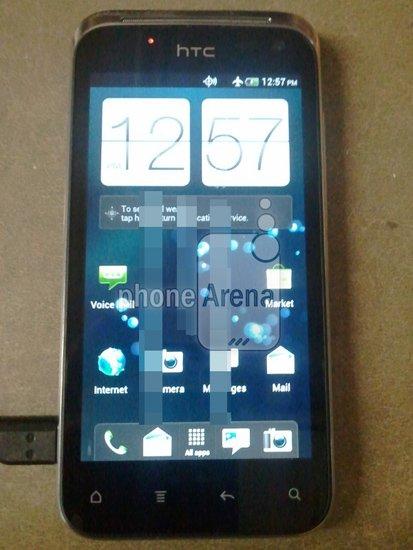 Таинственный смартфон htc с android ice cream sandwich на фото
