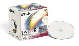 Tdk представила dvd с глянцевой поверхностью для нанесения фото