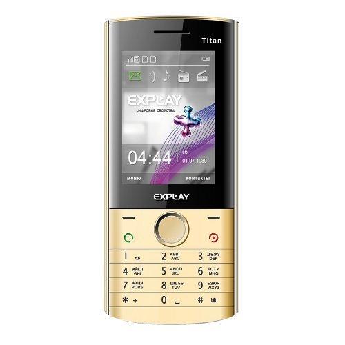 Телефон explay titan с поддержкой трех sim-карт