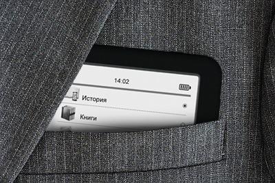 Texet анонсировала «карманный» e-ink ридер tb-436 с диагональю дисплея 4,3 дюйма