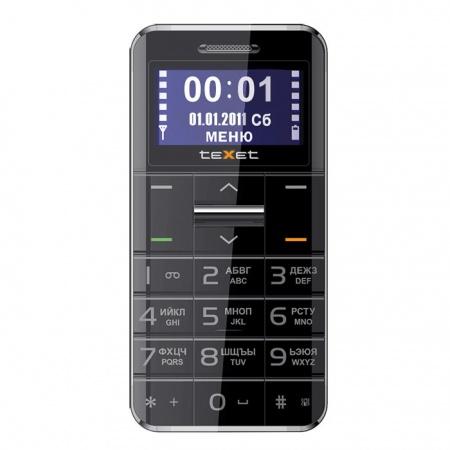 Texet tm-b310 – простой телефон за 1 990 рублей