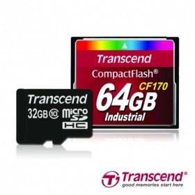 Transcend анонсировала емкие карты памяти семейства microsdhc и compactflash