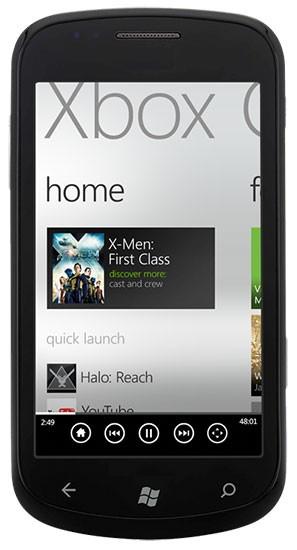 Wp7-смартфоны станут пультами ду для xbox