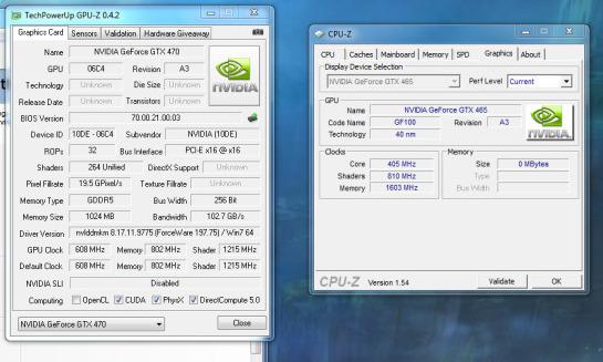 Заказчик galaxy gtx 470 gc получил неанонсированную видеокарту geforce gtx 465?